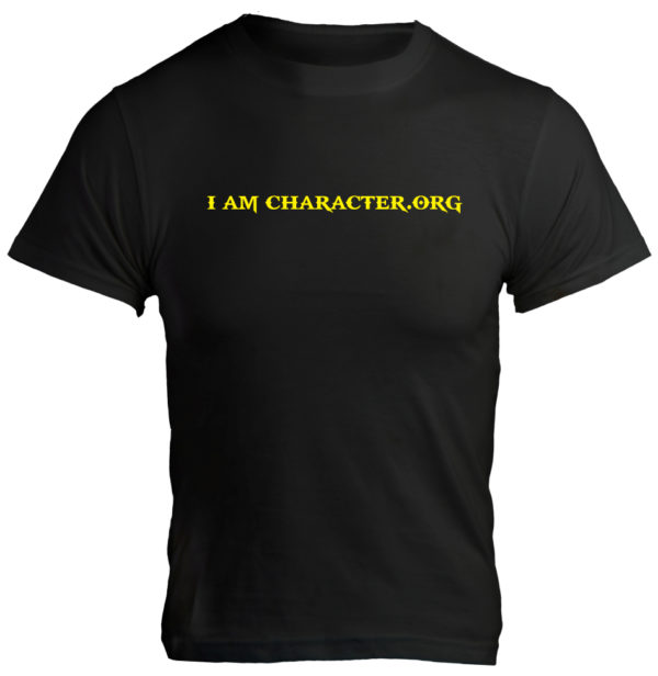 I AM CHARACTER Logo T-Shirt